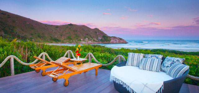 Grajagan: Hotel boutique na Ilha do Mel, no Paraná, possui atmosfera ideal para quem está apaixonado.