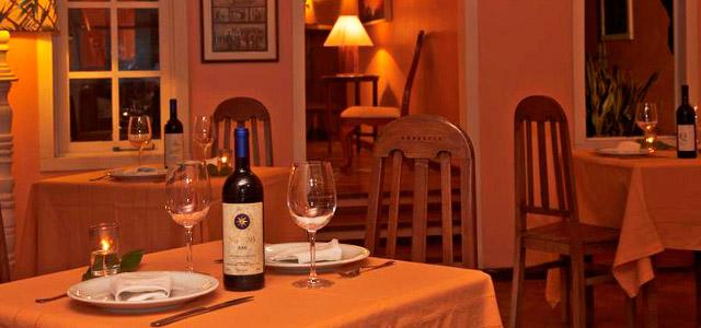 O restaurante da Pousada Fazendinha guarda incríveis segredos