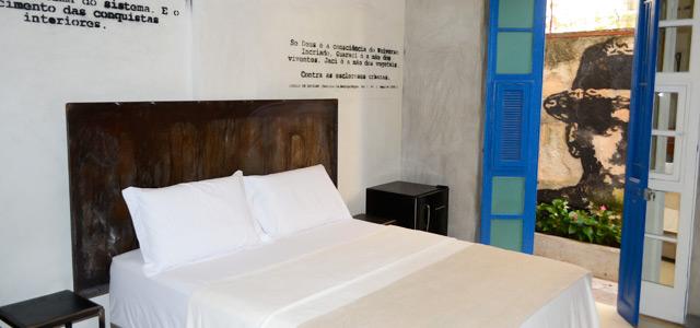 Pousada Modernistas: acomodações inspiradas na Movimento Modernista de 22. Misture o Rio de Janeiro, arte e conforto para aproveitar o feriado de Páscoa de 2014.