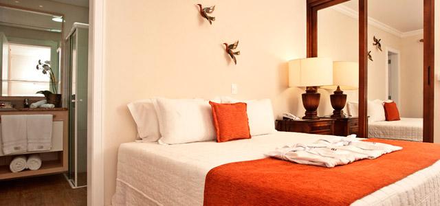 Não bastasse as belezas do Balneário, o Hotel Praia do Estaleiro pulsa energias positivias com sua decoração Feng Shui