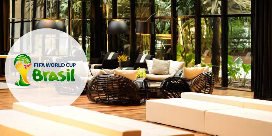 Seleções da Copa 2014: Hotéis parceiros do Zarpo com padrão FIFA!
