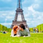 Lua de mel em Paris é mais que amor