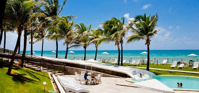 Hotel Parque da Costeira: vista para a Praia Barreira D'Água, 8 piscinas, SPA com massagens relaxantes e maravilhosa gastronomia. É tipo de presente para o dia das mães que ninguém recusa!
