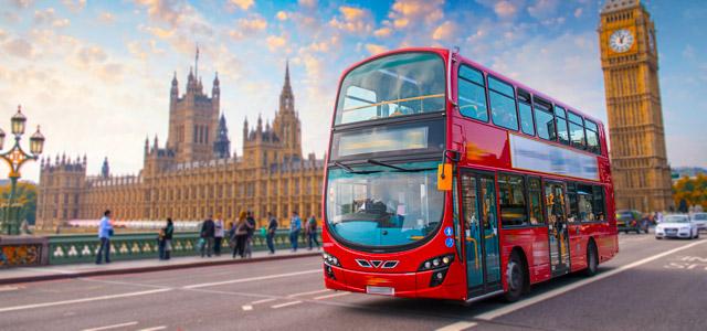 O Routemater é o simbolo de uma cidade moderna e estilosa. Não deixe de passear nos ônibus de dois andares para conhecer os pontos turísticos de Londres