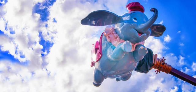 Dumbo, Aladin, Monstros S.A., são algumas das atrações disponíveis nos parques da Disney