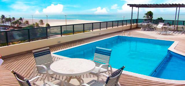 Calhau Praia Hotel: localizado de frente para a praia mais agitada de São Luis, essa estada promete conforto nas suas acomodações após um dia cheio de passeios pelos Lençóis Maranhenses