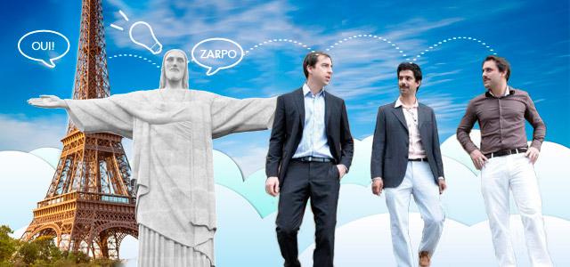 A proposta do Zarpo veio da França junto com os 3 sócios Alexis Manach, Eloi Déchery e Numa Sales de Paiva