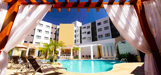 Tradicional hotel em Foz do Iguaçu, o Nadai Confort Hotel possui spa com tratamentos relaxantes