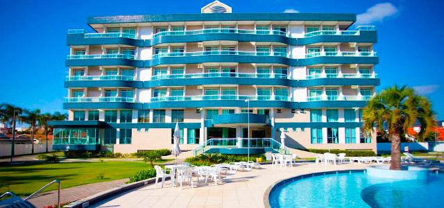 Oceania Park Hotel: um dos hotéis em Florianópolis que pede replay! A infraestrutura do hotel promete uma estada marcante