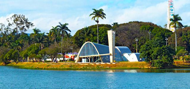 Pampulha, em Belo Horizonte, uma das cidades participantes do Comida di Buteco 2014