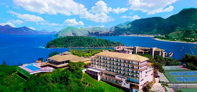 Hotel Porto Real: para as mamães esportistas, o hotel possui marina para esportes náuticos e vista encantadora das Iilhas de Angra. Estadia no Porto Real é um verdadeiro presente para o dia das mães