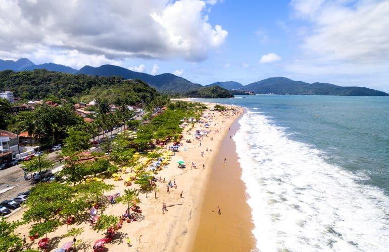 Praias de Caraguatatuba: Beleza no litoral norte paulista!