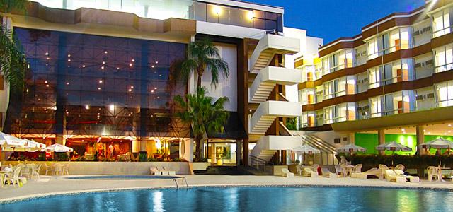 Rafain Palace: hotel em Foz do Iguaçu com excelente estrutura para prática de esportes