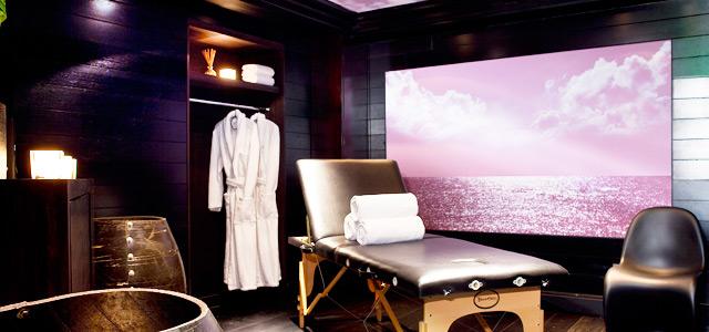 Spa Mon Hotel: a lua de mel em Paris é a dois, mas você terá espaço para cuidar de si também.