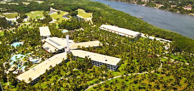 O Hotel Transamérica na Ilha de Comandatuba é o único na região e conta com ampla estrutura de lazer, com até 80 opções