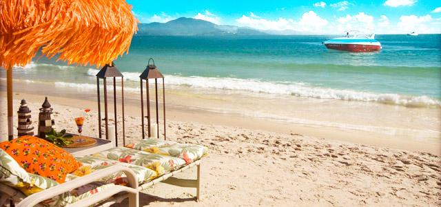 Villas Jurerê Hotel Boutique: estada completa, com vilas espaçosas, localizado próximo da praia mais badalada de Floripa. A ilha da magia de presente para o dia das mães mais que perfeito!