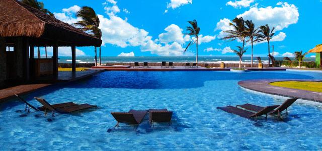 Zorah Beach: com atmosfera zen e relaxante, de frente para a praia do Guajiru, o Zorah garante estada inesquecível. Dê esse hotel que prima pela exclusividade e bom atendimento de  presente de dia das mães