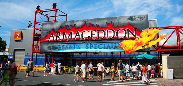 Armageddon é a atração cheia de suspense e aventura que a Disney Paris proporciona