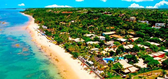 Mar Paraíso Resort: aos pés da praia do Mucugê, em Arraial d'Ajuda, está localizada essa pousada que é um verdadeiro presente do dia dos namorados