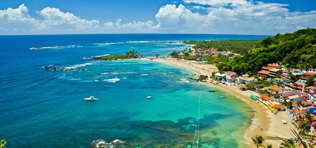 A Bahia abriga muitas das melhores praias do nordeste. No Morro de São Paulo você encontra paisagens incríveis, com rica fauna e flora