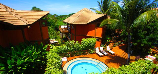 A Pousada Triboju, em oferta na nossa página, está localizada próxima de uma das melhores praias do nordeste