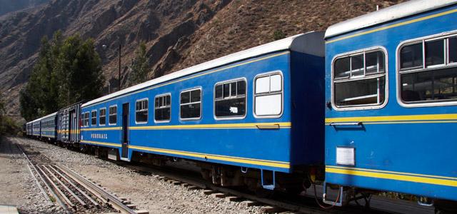 Trem - Machu Picchu