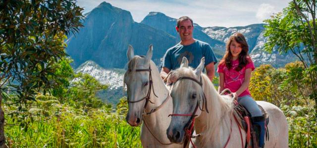 Cavalgada e outras atividades você encontra Hotel Fazenda Rosa dos Ventos