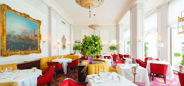O Cipriani é destaque no Copacabana Palace e oferece culinária sofisticada