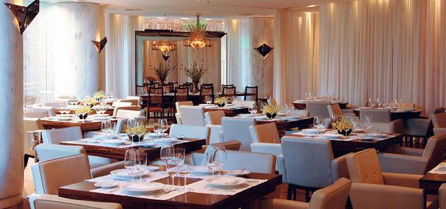 Fasano Al Mare é considerado um dos melhores restaurantes no Rio de Janeiro