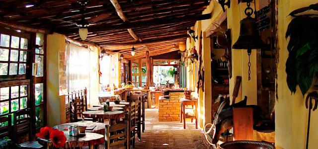 O restaurante da Fazenda Cana Verde oferece o que há de melhor na região