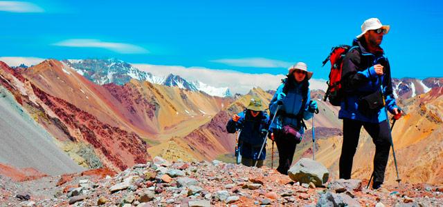 Escalada é uma das muitas atividades que você poderá praticar em Mendoza.