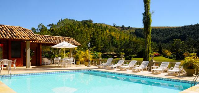 Piscina, lago, equipe de recração e verde, muito verde! Conheça a hiperestrutura desse  hotel fazenda em Minas Gerais