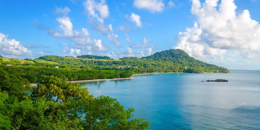 Ilha San Andrés e os sete tons de azul