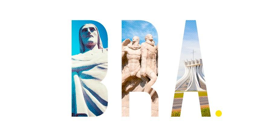 Os mais famosos pontos turísticos do Brasil