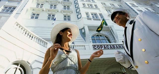 Nove décadas de excelente atendimento e conforto! É o que o Copacabana Palace oferece aos seus hóspedes