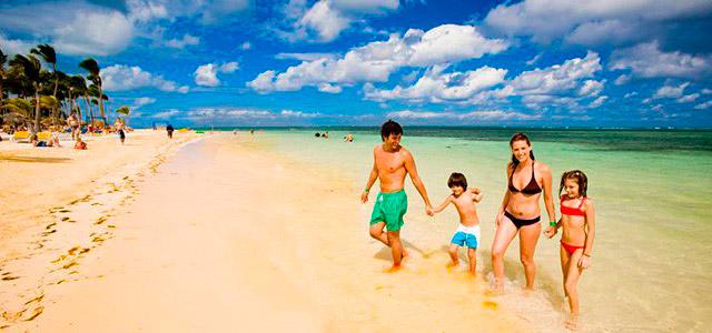 Leva a família para curtir tudo o que os pacotes para Punta Cana têm para oferecer