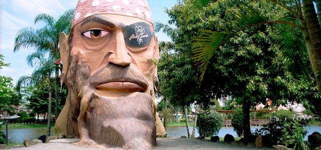 Ilha dos Piratas - Beto Carrero World