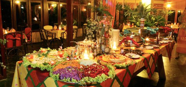 Delicie-se com uma Gastronomia de primeira na Pousada Tabapitanga.
