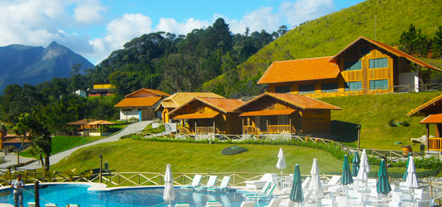 Fazenda Suíça Le Canton - Hotel fazenda no Brasil