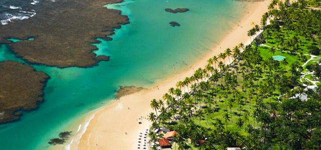 As belezas da Península de Maraú