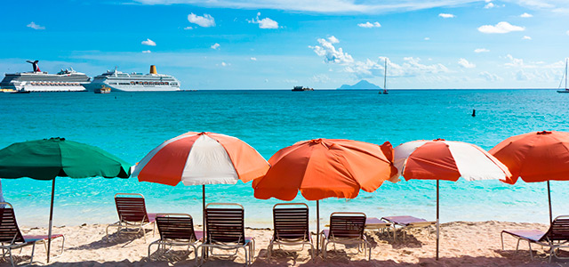 Great Bay, em St Maarten.