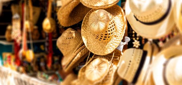 Os famosos chapéus Panamá