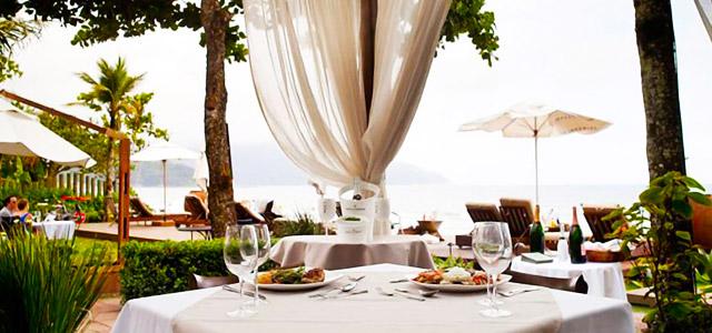 Ambientes românticos criam a atmosfera perfeita no Hotel Nau Royal