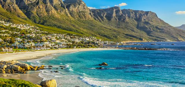 Lindas praias da África do Sul
