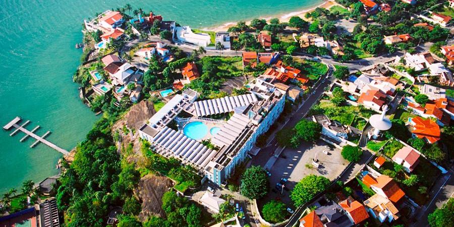 Oi, viva o Hotel Senac Ilha do Boi.