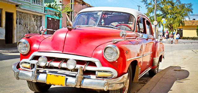 Automóveis clássicos em Cuba!
