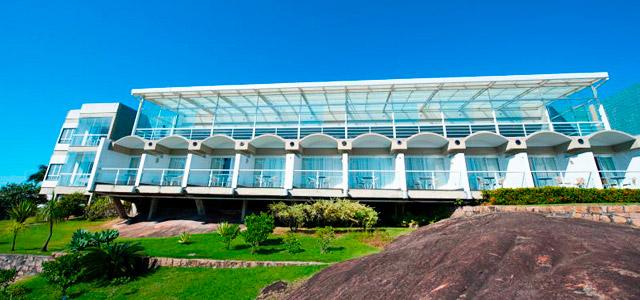Fachada do Hotel Senac Ilha do Boi