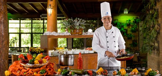 Gastronomia do Aguativa Resort