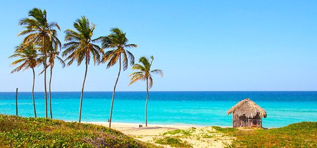 Cuba: Playa Megano.