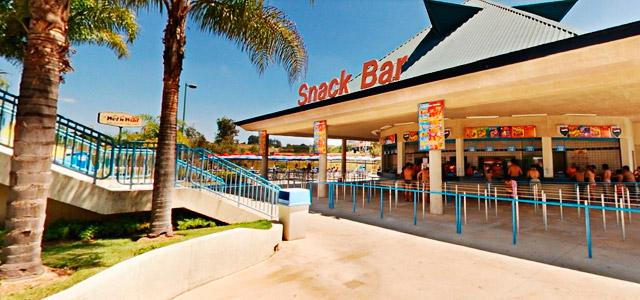 Snack Bar - parque aquático Wen't Wild